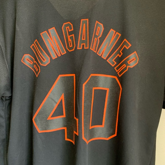 release date bd091 0e8e9 Authentic giants jersey- bumgarner
